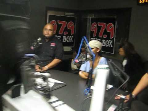 97.9 THE BOX***MEAGAN GOOD***W/ G-MAN & THE CHILE -PART 1 Video