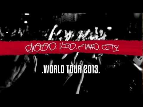 "Kendrick Lamar ""World Tour Vlog"" Episode 1"