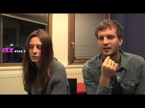 Wolf Alice interview - Ellie and Joff (part 1)
