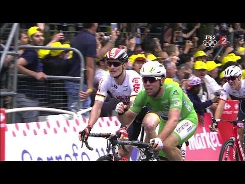 3e étape : photo finish pour la victoire de Mark Cavendish devant André Greipel