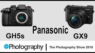 First look at the new Panasonic GX9 and GH5S mirrorless cameras
