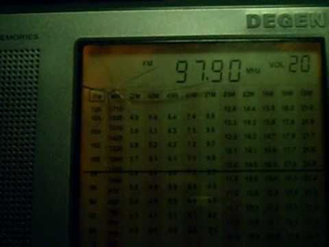 FM DX - 97.9 mHz - Rai Radio 2  from Melissa (KR) received in Talsano
