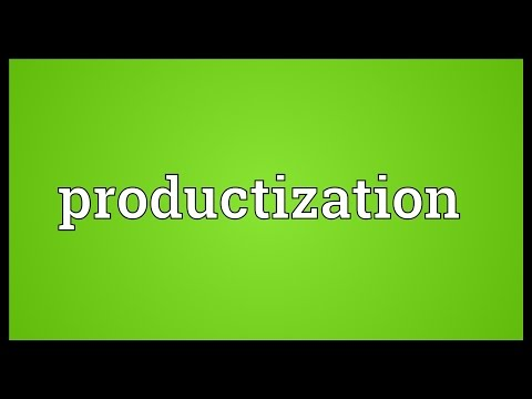 Header of Productization