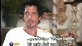 Chris Cornell - interview , Istanbul