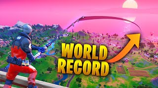 *RECORD* Longest FISHING Distance Ever!! - Fortnite Funny and Daily Best Moments Ep.1392