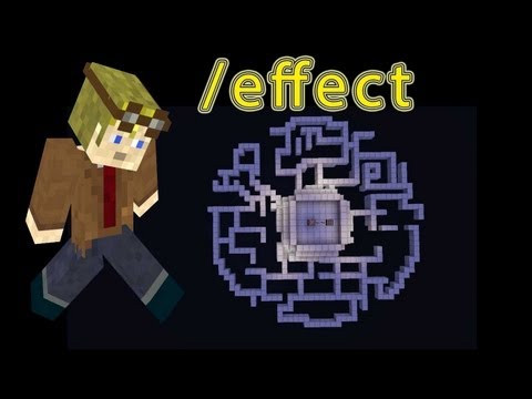 how to use the Effects command and Command Block Minecraft