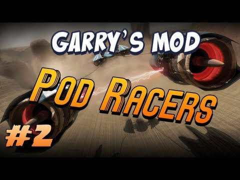 Garrys Mod Pod Racers Part 2 - Barrels & Fridges