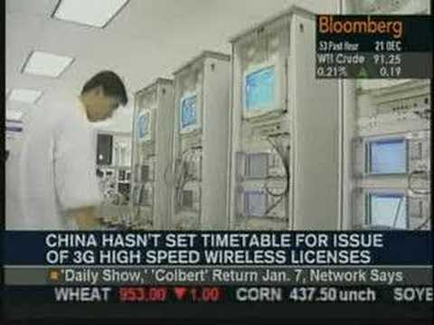Bloomberg TV: BDA's Duncan Clark on China Mobile, 3G, iPhone