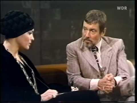Romy Schneider - Je später der Abend (Talkshow, 1974), Teil 1/5