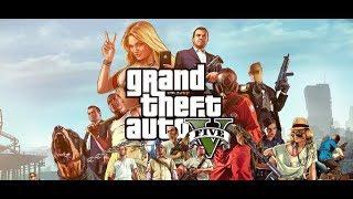 Начинаем Grand Theft Auto V (как только скачается) и игро-фильмовые ауки (игорстрим Жмилевского)
