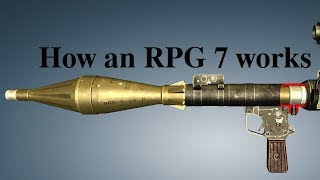 How an RPG 7 works