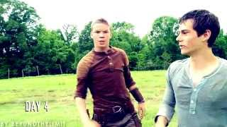 TRENDING FUN: the maze runner cast | come with me now [gag reel]