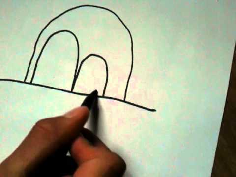 faire un dessin rigolo dessiner un bonhomme amusant. Black Bedroom Furniture Sets. Home Design Ideas