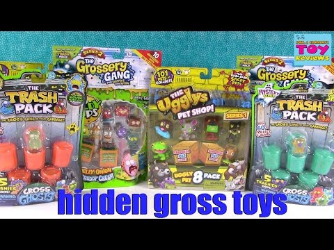 Grossery Gang Trash Pack Ugglys Blind Bag Toy Review Opening   PSToyReviews