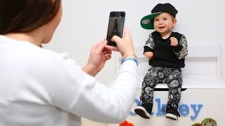 Cute Toddler With One Arm Becomes Instagram Fashion Star
