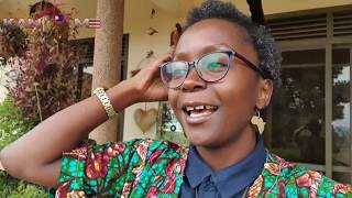 Kansiime in Mizigo express. Behind the scenes.