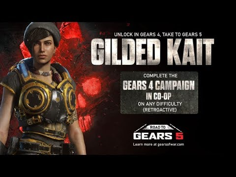Gears of War 4 NEW GILDED KAIT CHALLENGE & New ROAD TO GEARS 5 Challenges (Gears 5 News)