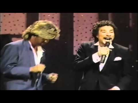George Michael, Smokey Robinson - Careless Whisper (live) Hd video