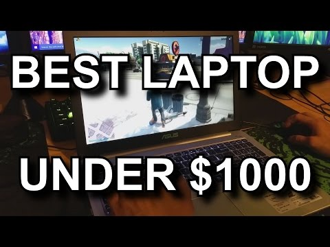ASUS K501LX-EB71 2015 Review: Best Gaming Laptop Under $1000
