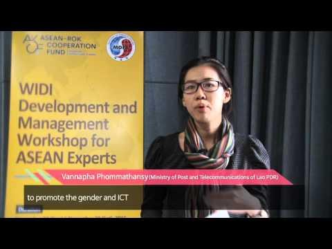 숙명여대 한 아세안 협력사업 WIDI 홍보 (젠더, ICT) / ASEAN Cooperation Project (Gender & ICT)
