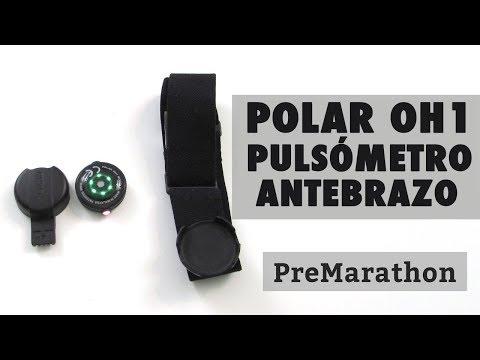 Review Polar OH1: pulsómetro óptico bluetooth de antebrazo.