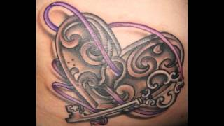 Lock And Key Tattoos For Couples