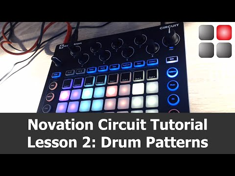 Novation Circuit Tutorial - Lesson 2: Creating Drum Patterns
