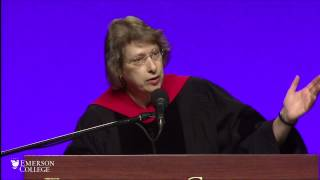 Megan Marshall gives 2015 Graduate Commencement Address