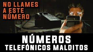 NÚMEROS TELEFÓNICOS MALDITOS, terror miedo whatsapp real perturbador escalofriante creepy numero