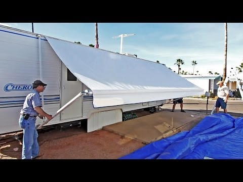 How To Replace an RV Patio Awning