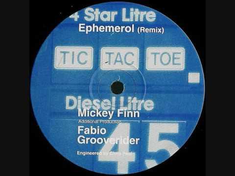 Tic Tac Toe - Ephemerol (Mickey Finn, Fabio & Grooverider Remix)