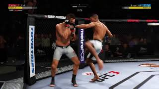 EA SPORTS™ UFC® 3 Przeciwnik na deskach