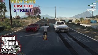 TEST HITS ON THE STREET | CRASHED THE ELCO | WILD SIDE RP