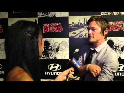 Norman Reedus Talks 'The Walking Dead' Season 3 Trailer: 2012 Comic Con