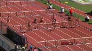 IAAF World Junior Championships 2014 - Women's 100 Metres Hurdles Preliminaries Heat 3