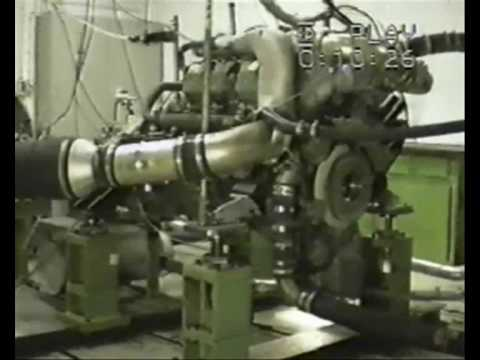 MTU 8V 396 diesel engine catastrophic failure