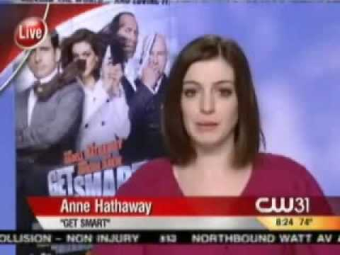 Funny Live Interview w/ Anne Hathaway