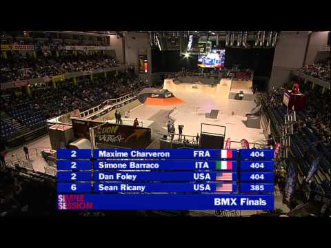 Simple Session 2012 BMX finals Part1