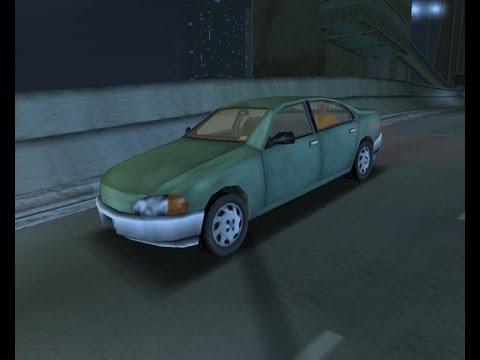 Уникальные машины в GTA 3 (Курума)