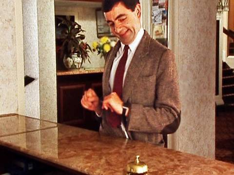 Mr Bean - Checking In