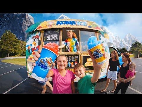 Kona Ice - the coolest shaved ice truck around!
