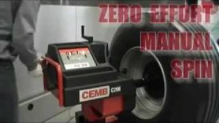 CEMB 206 MOBILE TRUCK WHEEL BALANCER