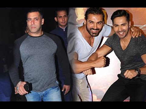 Varun Dhawan And John Abraham Spill The Beans On Salman Khan's Marriage Date