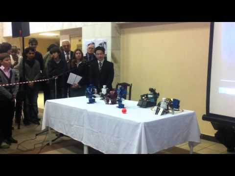Hiroshi Ishiguro's robots in Bauman's University (part 4)