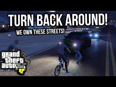 BLOCKING CARS from ENTERING our TURF! (GTA RP)