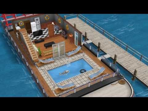 The Royal Wavecutter (Premium Houseboat)- Sims FreePlay