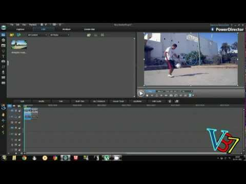 How To Make a Slow Motion Effect - CyberLink PowerDirector 10 Ultra