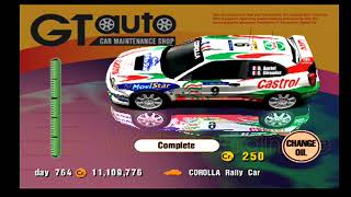Gran Turismo 3 Playthrough Part 85.5 MAX SPEED COROLLA RALLY CAR!