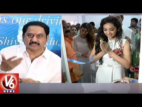 Actors Suman, Archana and Meghana Inaugurates E-Health Clinic In Nizamabad | V6 News