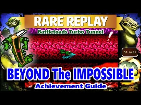 Rare Replay Battletoads - Beyond The Impossible Achievement Guide (Turbo Tunnel Infinite Loop)